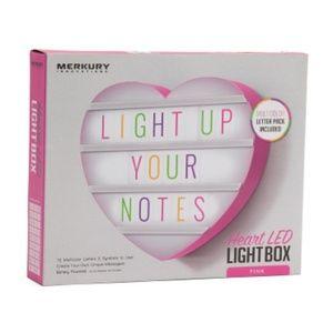 Heart LED light box 🙂💗